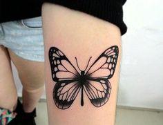 #borboleta #tatuagem #cute #tattoo
