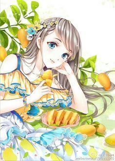 images for anime art Pretty Anime Girl, Beautiful Anime Girl, I Love Anime, Anime Chibi, Manga Anime, Kawaii Anime Girl, Anime Girls, Image Manga, Chibi Girl