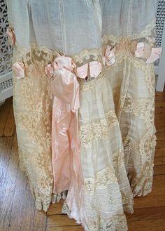 shabby boho curtains