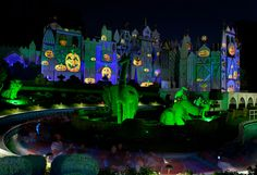 It's a small world Halloween spell.....
