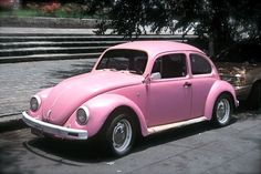 Slug Bug. Light pink