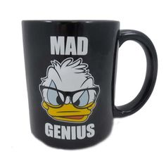 Your WDW Store - Disney Coffee Cup Mug - Mad Genius - Donald Duck