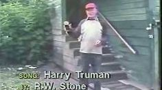 Mt. St. Helens Eruption and Harry Truman, via YouTube.