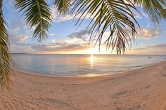 Sunsets at Lanas Beach resort are so picturesque