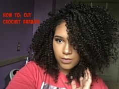 How to : Cut Crochet Braids | Freetress Bohemian Braid/Water Wave (HIGHLY REQUESTED) - YouTube