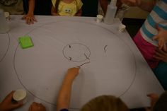 Worm races! Did this a few years ago and it was so much fun! Kids loved it, not so sure about the worms! SRP 2013