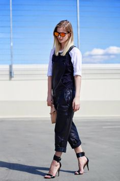 New Trend spotted at The Fashion Mood Book blog: #Overalls