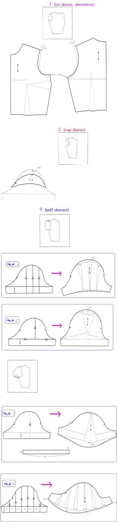 Sleeve Pattern Alterations - 1