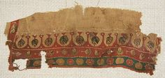 early (4th - 6th century) Coptic textile ♥    Nazmiyal colletion