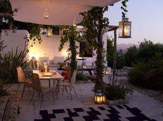 Incantevole serata in veranda...