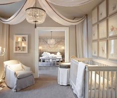 Restoration Hardware's Baby & Child line is always so pretty. #restorationhardware #restorationhardwarebabyandchild #chandelier #nursery #nurserydecor #nurserydesign #nurseryprints #crownmolding #kidsroom #homedecor #homedesign #interiordesign #realestate #dreamhome #inspo #decor #beautifulhomes #luxury #goals #follow #design #luxuryhomes #luxuryrealestate #wallpaper