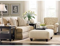 LOVE this living room furniture from Haverty's!