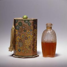 Musee Lalique, perfume bottle.