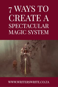 Writers Write is your one-stop writing resource. Use this list we put together to create a spectacular magic system in your novel. Creative Writing Tips, Book Writing Tips, Writing Words, Writing Process, Fiction Writing, Writing Resources, Writing Help, Writing Websites, Writing Lists