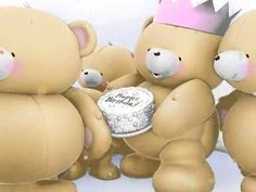 Forever Friends: Love is in the Air / HD Happy Birthday Penguin, Happy Birthday Video, Birthday Songs, Art Birthday, Happy Birthday Wishes, Happy Birthday Forever Friend, Friend Birthday, Forever Friends Cards, Teddy Bear Pictures