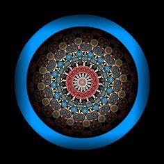 Mandala - By leaflady
