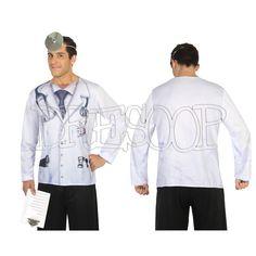 Disfraz camiseta 3 D Doctor para hombre - Dresoop.es