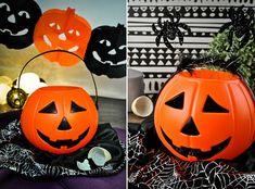Koszyk na Słodycze Dynia Kosz i Lampion Halloween 8506105140 - Allegro.pl