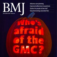 Have a look at this week's issue http://www.bmj.com/content/347/7930 and our Halloween cover
