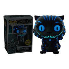 Disney - Alice in Wonderland - Cheshire Cat (Glow-in-the-Dark) Pop! Funk Pop, Disney Pop, Gato Alice, Funko Pop Dolls, Chesire Cat, Pop Figurine, Pop Toys, Pop Characters, Funko Pop Vinyl