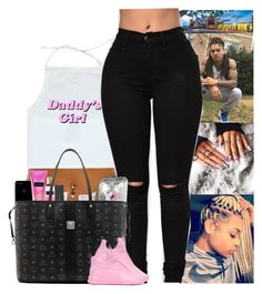 """""""Daddy's girl"""" by kennisha84 ❤ liked on Polyvore featuring Victoria's Secret, Happy Plugs, Tzumi, MAC Cosmetics, MCM and Puma"""