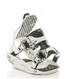 Flow Essence Snowboard Bindings White ~SWEET~