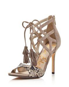 Sam Edelman Aimes Strappy Tasseled High Heel Sandals - 100% Bloomingdale's Exclusive | Bloomingdale's