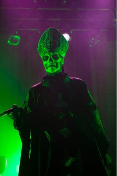 Papa Emeritus II of Ghost, gorgeous as ever.
