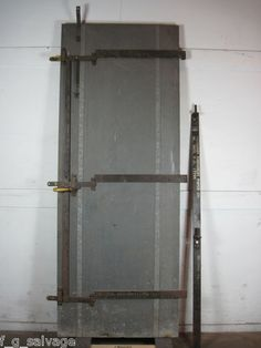 1930's 'Richmond' hinged fire door