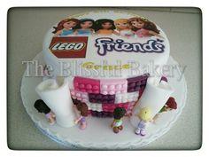 Lego friends cake #Taart #Verjaardag #Cakes #Lego Lego Friends Cake, Lego Friends Birthday, Lego Friends Party, 7th Birthday Cakes, Lego Birthday Party, Girls Lego Party, Lego Food, Lego Themed Party, Champagne Birthday