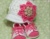 Baby Cowboy Crochet Patterns. Includes patterns for Boot Scoot'n Boots and Boot Scoot'n Cowboy Hat. $10.75, via Etsy.