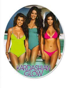 Kim, Kourt and Khlo looking amazing with Kardashian Glow!