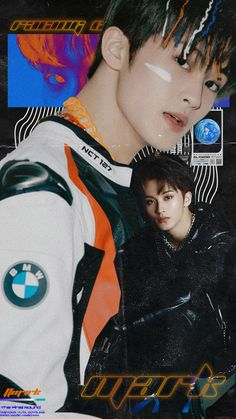 """so i made dream and mark lockscreens hehe"" Mark Lee, Kpop Posters, Graphic Design Posters, Retro Graphic Design, Kpop Aesthetic, Jaehyun, Nct Dream, Nct 127, My Idol"
