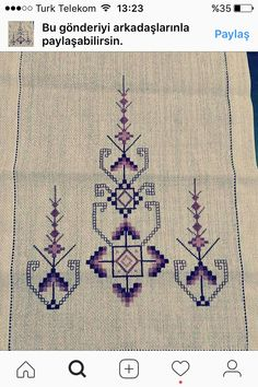 Hardanger Embroidery, Folk Embroidery, Cross Stitch Embroidery, Embroidery Patterns Free, Embroidery Designs, Machine Embroidery, Sewing Patterns, Palestinian Embroidery, Cross Stitch Boarders
