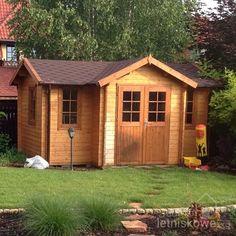 Drewniany domek ogrodowy (Wooden house) Hoby Jucar 14,4 m2