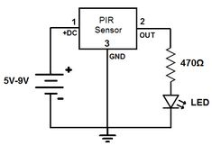Simple circuit, Which are used as security systems in banks, offices and shopping malls and also as intruder alarm in home. Electronics Basics, Hobby Electronics, Electronics Projects, Electrical Projects, Electrical Tools, Chemical Engineering, Electronic Engineering, Intruder Alarm, Electronic News