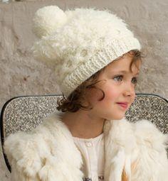 Modèle bonnet à torsades Enfant