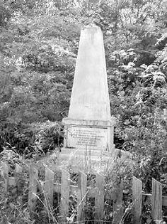 Pomnik na polu bitwy pod Krupczycami - stan z , 1950 r.