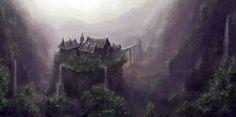 fantasy kingdom landscape - Google Search