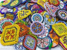 Kuchi-Afghan-Tribal-Beaded-Dress-Medallions-M-L-Sizes-50-100Pcs-Wholesale-LOT