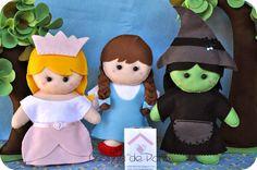 Casinha de Pano: Mágico de Oz e árvores