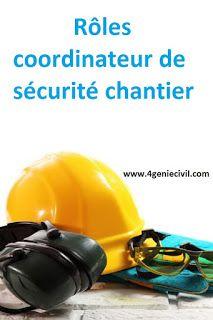 Coordinateur De Securite Chantier Formation Pdf Sante Et Securite Au Travail Sante Et Securite Chantier