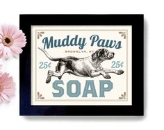 Laundry room decor dog art dog wash art sign wall art print mudroom laundry room decor dirty dog art dog wash soap art sign wall art print dog groomer hound dog by dexmex on etsy solutioingenieria Image collections
