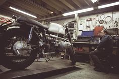 Untitled Motorcycle Workshop | True Biker Spirit