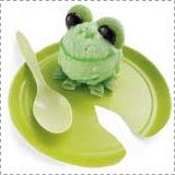 Sherbet Frog (could use mint chocolate chip ice cream, too)