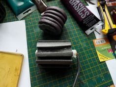 very cool DIY! Pipe Insulation Gelli Tools - scrappystickyinkymess