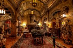 Disney's Tower of Terror Lobby provides endless inspiration
