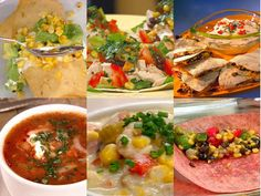 Southwest Corn Recipes from #FNDish for #SummerFest