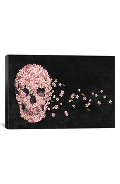 iCanvas 'Beautiful Death - Terry Fan' Giclée Print Canvas Art available at #Nordstrom