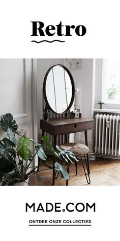 Trendy Vintage Home Design Retro Renovation 27 Ideas My New Room, My Room, Home Bedroom, Bedroom Decor, Bedroom Mirrors, Bedroom Furniture, Bedroom Ideas, Deco Retro, Retro Renovation
